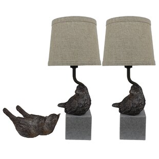 Korin Bird III 14 Table Lamp (Set of 2)