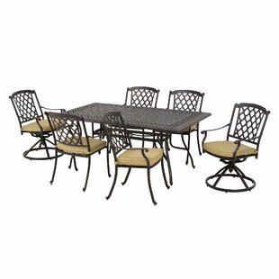 Yamashita 6 Seater Dining Set With Cushions By Sol 72 Outdoor