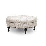 Baxton Studio Palfrey Tufted Cocktail Ottoman by Wholesale Interiors