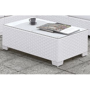 Kuhn Wicker Coffee Table