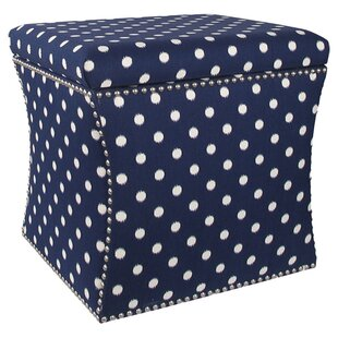 Zoey Storage Ottoman by Skyline Furniture