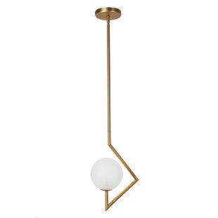 George Oliver Wendt 1-Light Globe Pendant