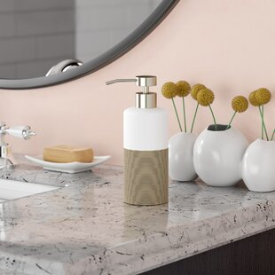 Best Reviews Jett Countertop Soap and Lotion Dispenser ByWade Logan