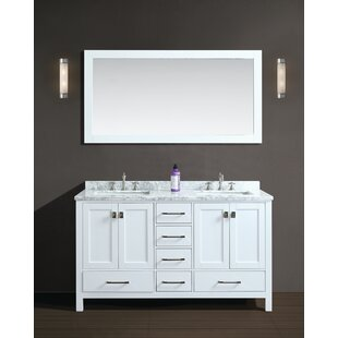 Affordable Werth 72 Double Bathroom Vanity Set with Mirror By Brayden Studio