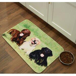 Barkley Labrador Retrievers Kitchen Mat
