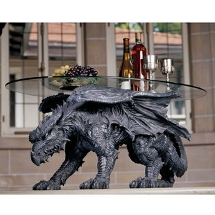 Design Toscano Warwickshire Dragon Coffee Table