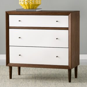 Sunset 3 Drawer Chest by Langley Street