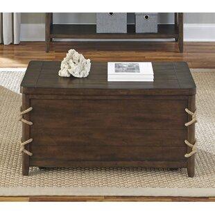 Vintage trunk coffee table Distressed Wood Quickview Wayfair Vintage Trunk Coffee Table Wayfair