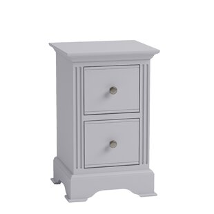 Wembley 2 Drawer Bedside Table By August Grove