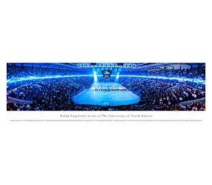 NCAA University of North Dakota - Hockey Anthem by Christopher Gjevre Photographic Print by Blakeway Worldwide Panoramas, Inc