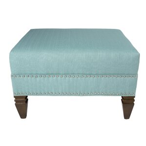 Kara Upholstered Ottoman by Darby Home Co