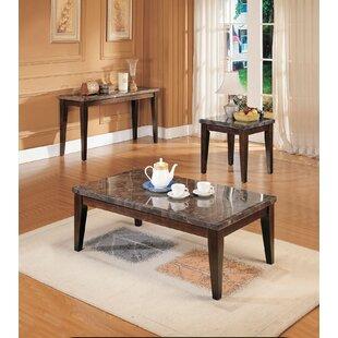 Red Barrel Studio Halethorpe 3 Piece Coffee Table Set