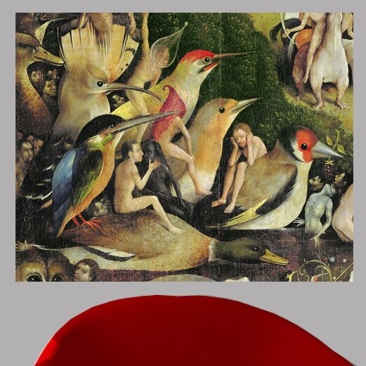 50bcc217b62 16th  The Garden of Earthly Delights  by Hieronymus Bosch Oil Painting  Print Poster