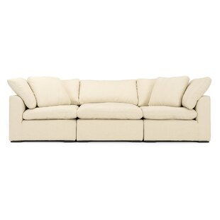 Grantville 3 Piece Modular Sofa by Three Posts
