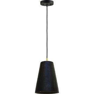 Gillespie 1-Light Cone Pendant by Ren-Wil