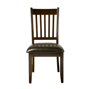 Pina Solid Wood Dining Chair (Set of 2) Winston Porter