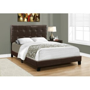Duggan Upholstered Panel Bed by Charlton Home