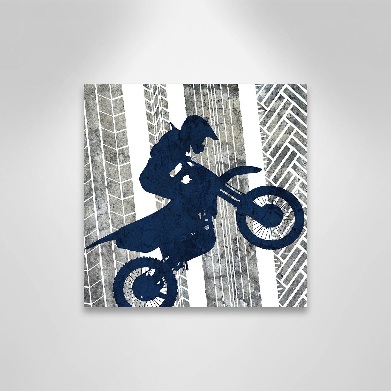 Casafinearts Juvenile Motocross 1 Canvas Art Wayfair