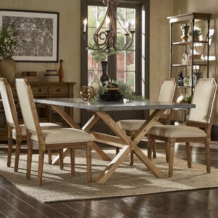 Peterson 5 Piece Dining Set Union Rustic