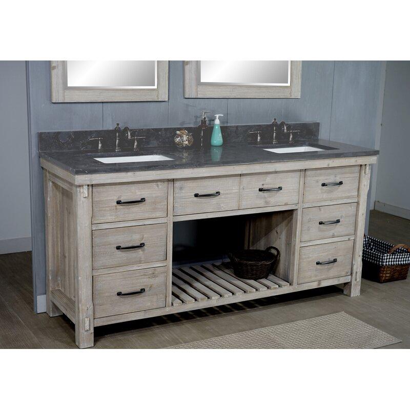 Bartlett 72 Double Bathroom Vanity Set