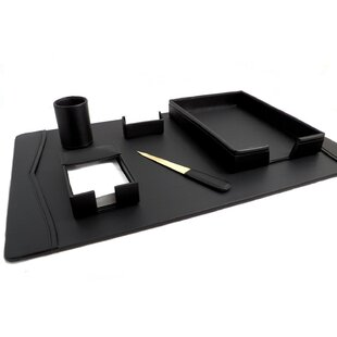 Bey-Berk 6 Piece Desk Set