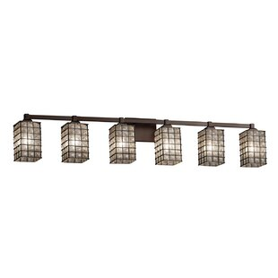 Reviews Lanning 6-Light LED Vanity Light By Williston Forge