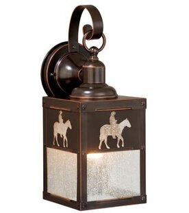 San Dimas 1-Light Outdoor Wall Lantern By Loon Peak Outdoor Lighting