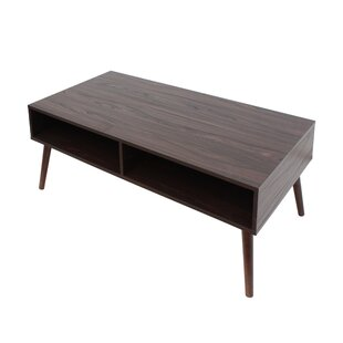 Reviews Goetsch Mid Century Modern Coffee Table by Wrought Studio Reviews (2019) & Buyer's Guide
