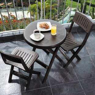 RIMAX Outdoor 3 Piece Bistro Set