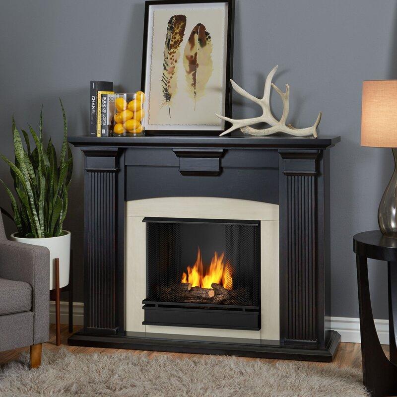 real flame adelaide gel fuel fireplace u0026 reviews wayfair