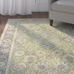 Dittmar Handmade Lime Green Indoor/Outdoor Area Rug