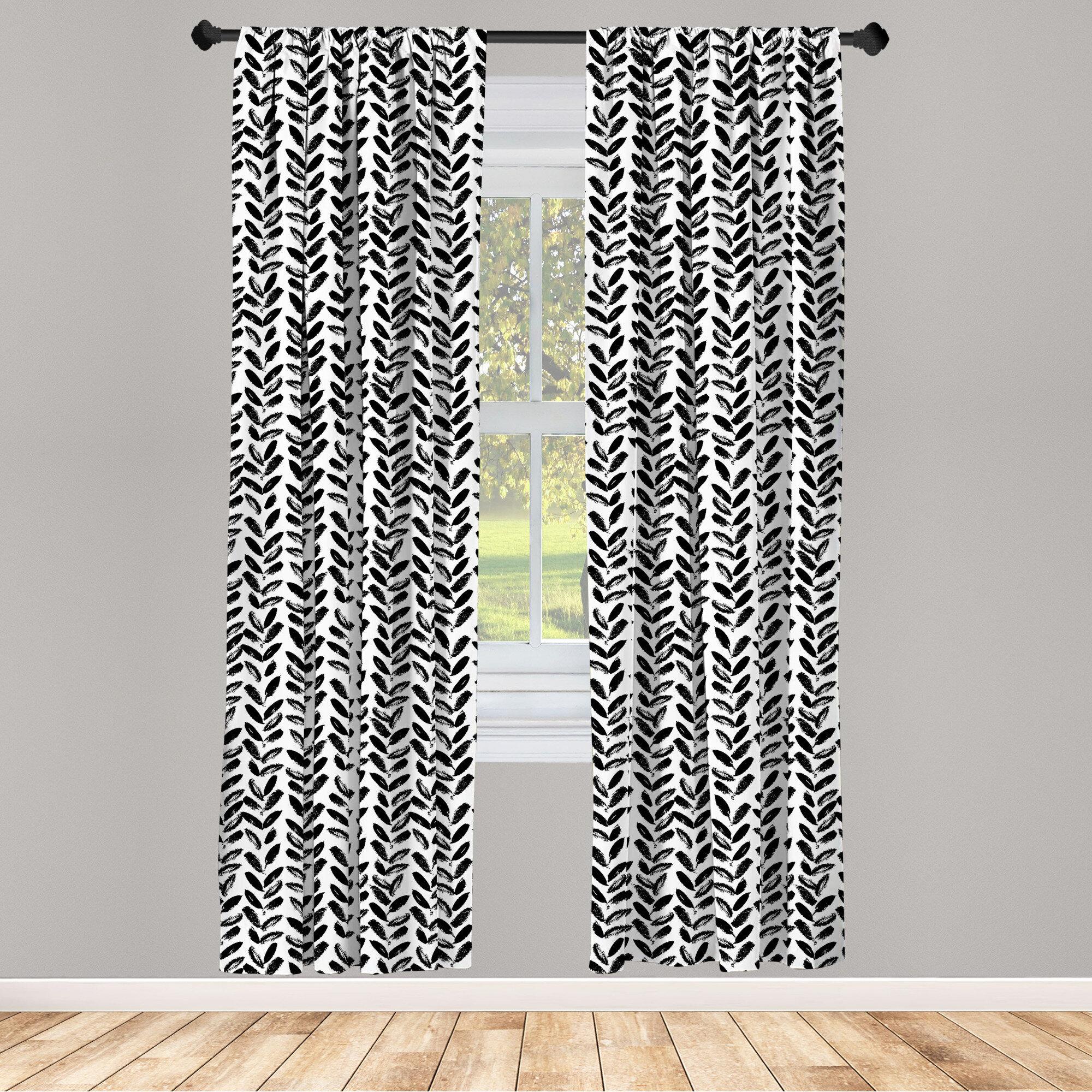 East Urban Home Room Darkening Rod Pocket Curtain Panels Reviews Wayfair