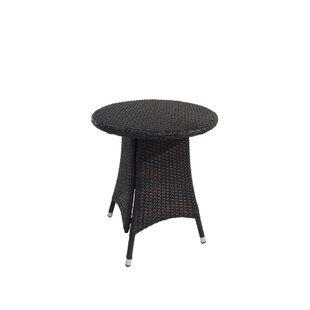 Benasse Diamond Outdoor Wicker Bistro Table