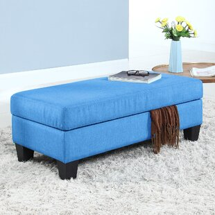 Madison Home USA Classic Upholstered Storage Bench