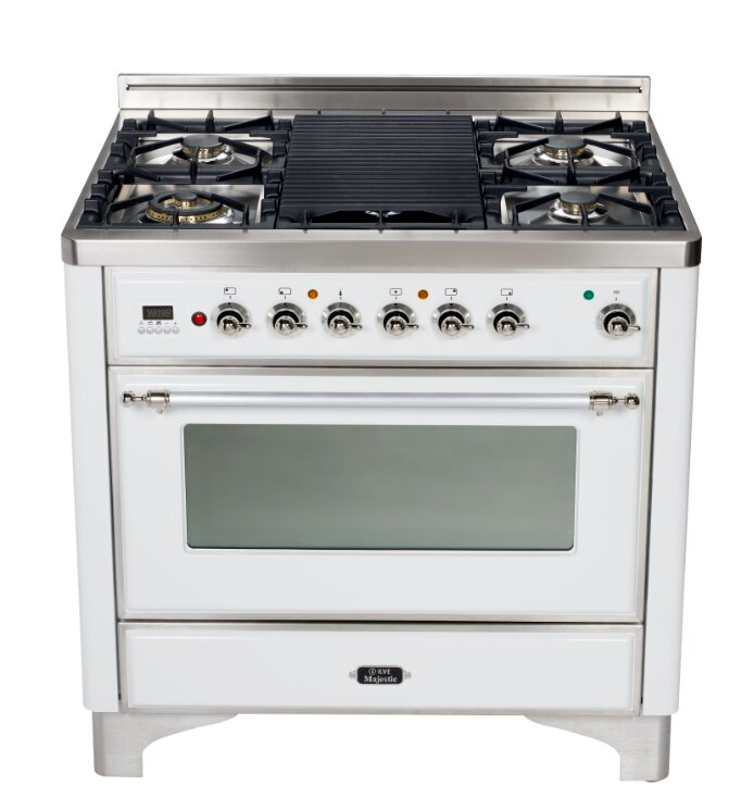 "Majestic 36"" 3.55 cu ft. Free-standing Gas Range with Griddle"