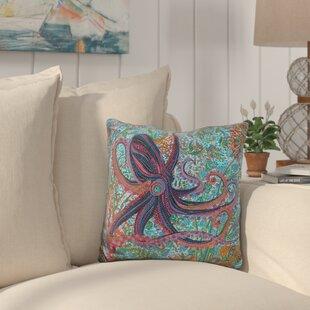 Bucher Octopus Throw Pillow