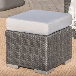 Bay Isle Home Norfolk Outdoor Ottoman with Cushion