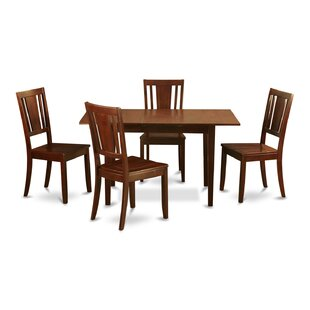Balfor 5 Piece Extendable Dining Set Andover Mills