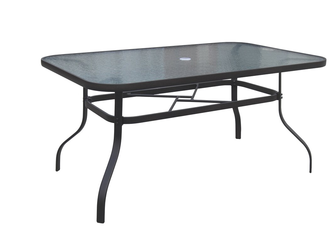 Hymel Stainless Steel Dining Table