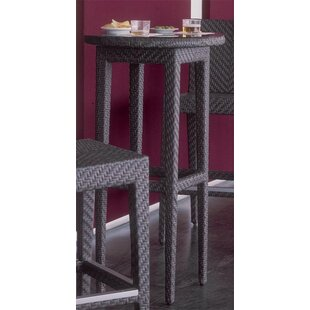 Soho Patio Wicker Pub Table by Hospitality Rattan Best Choices