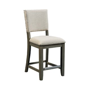 """North York 11.17"""" Bar Stool with Cushion (Set of 2) by"""