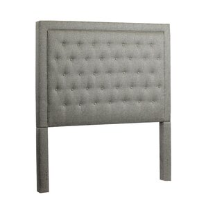 Yorkshire Queen Upholstered Panel Headboard by Greyleigh