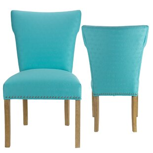 Check Prices Amoll Upholstered Dining Chair (Set of 2) by Highland Dunes Reviews (2019) & Buyer's Guide