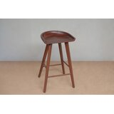Manzanillo Solid Wood 30 Bar Stool by Masaya & Co