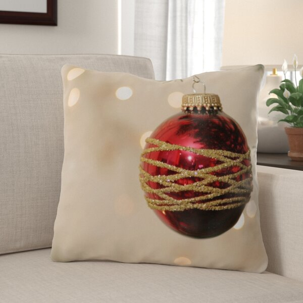 The Holiday Aisle Kolten Christmas Indoor Outdoor Canvas Throw Pillow Wayfair