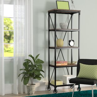 Cable Etagere Bookcase by Williston Forge