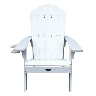 Island Umbrella Retreat Plastic Adirondack Chair