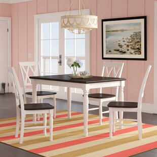 Kivalina 5 Piece Extendable Dining Set Beachcrest Home
