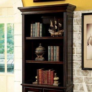 Ballycastle Transitional Standard Bookcase Canora Grey