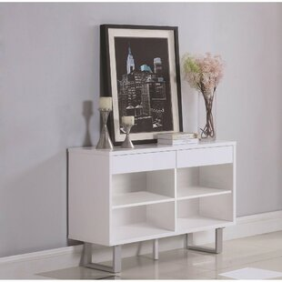 Pineland Contemporary Wooden Console Table